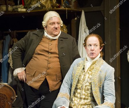 Simon Russell Beale as Mr Foote, Ian Kelly as Prince George