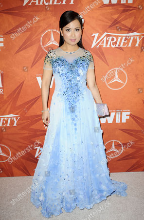 Editorial image of Variety and Women in Film Emmy Nominee Celebration, Arrivals, Los Angeles, America - 18 Sep 2015