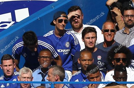 Editorial picture of Barclays Premier League 2015/16 Chelsea v Arsenal Stamford Bridge, Fulham Rd, London, United Kingdom - 19 Sep 2015