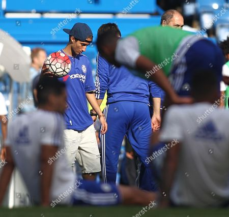 Stock Picture of Jose Mario Mourinho Jr   during the Barclays Premier League match Chelsea and Arsenal  played at Stamford Bridge, London