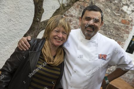 Stock Picture of Cyrus Todiwala and Sheila Dillon