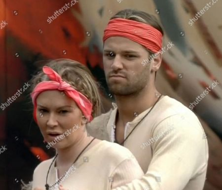 Jenna Jameson and James Hill take part in The End Of The World task