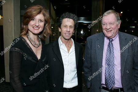 Arianna Huffington, Producer Brian Grazer and Richard Schickel