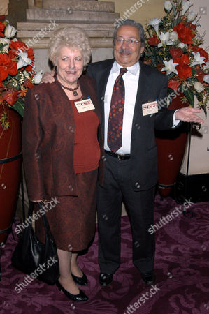 Saeed Jaffrey and his wife