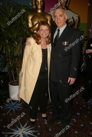 VP Giorgio Armani Wanda McDaniel and Producer Al Ruddy