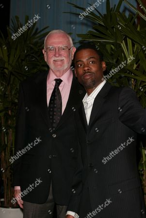 Academy President Frank Pierson and Chris Rock