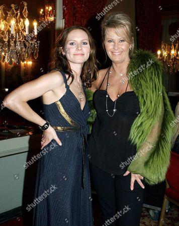 Nina Persson and Efva Attling