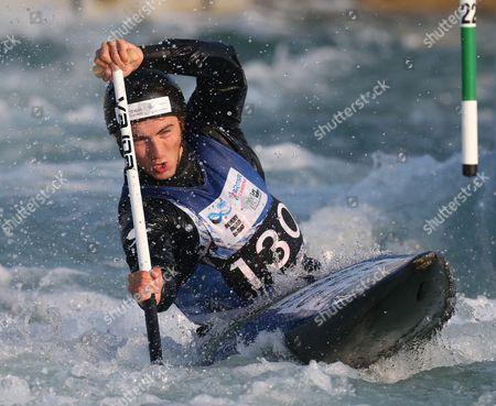 Editorial image of Canoe-ICF Canoe Slalom World Championships, Lee Valley, London, Britain - Day 5  20 Sept 2015