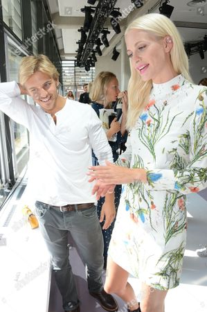 Brandon Green and Poppy Delevingne