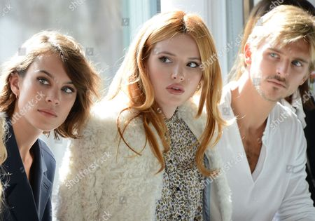 Alexa Chung, Bella Thorne and Brandon Green