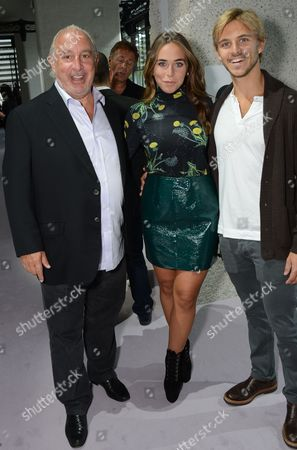 Sir Philip Green, Chloe Green and Brandon Green