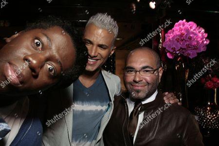 Jay Alexander, Jay Manuel and Nole Marin