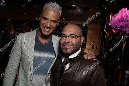 Jay Manuel and Nole Marin