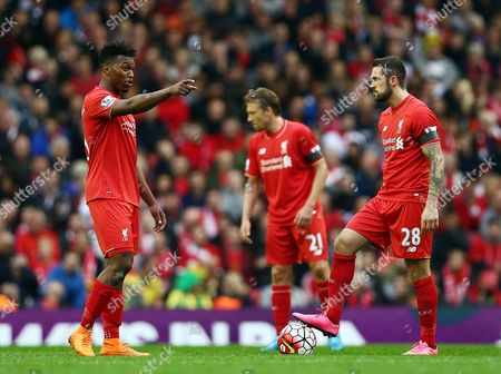 Editorial image of Barclays Premier League 2015/16 Liverpool v Norwich City Anfield, Anfield Rd, Liverpool, United Kingdom - 20 Sep 2015