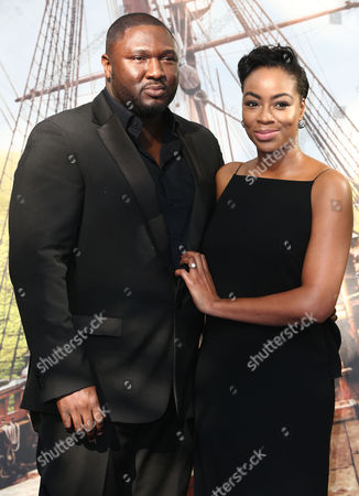 Stock Picture of Nonso Anonzie with guest
