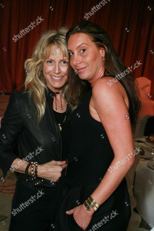 Tracey Ross and Jacqui Getty