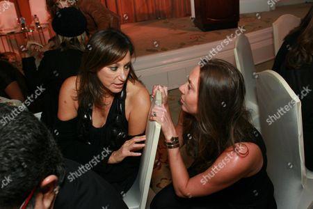 Donna Karan and Jacqui Getty