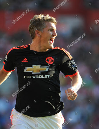 Editorial picture of Southampton v Manchester United, Barclays Premier League, Football, Dean Court, UK 20th September 2015