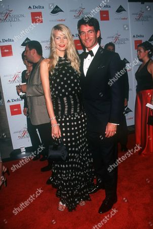 06/15/00 New York City Council of Fashion Designers of America (C.F.D.A.) present the American Fashion Awards at Avery Fisher Hall, Lincoln Center. Claudia Schiffer with boyfriend Tim Jeffries. Photo by ®Evan Agostini/BEI BEI-AE