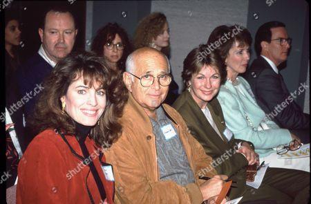 Cynthia Sykes, Norman Lear and wife Lyn Davis