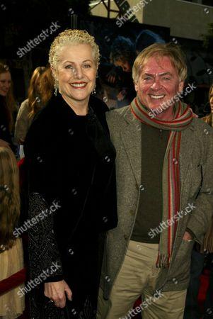 Lynn Redgrave and Daniel Davis