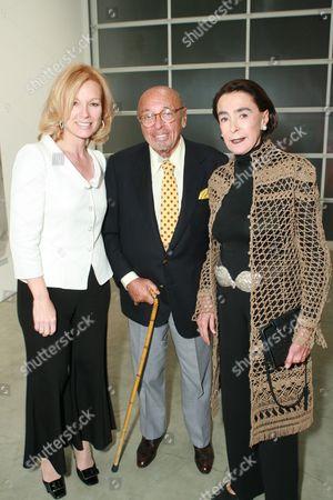 Deborah McLeod,  Ahmet Ertegun and Mica