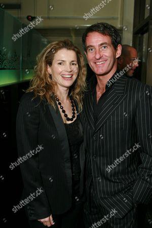 Julia Ormond and Tim Jeffries