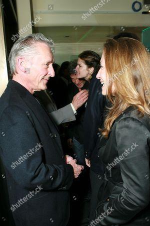 Ed Ruscha and Diana Picasso