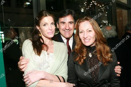 Stephanie Seymour, Peter Brant and Diana Picasso