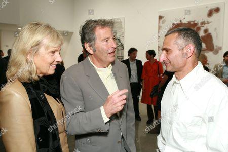 Eva Shaye, Bob Shaye and Christopher Wool
