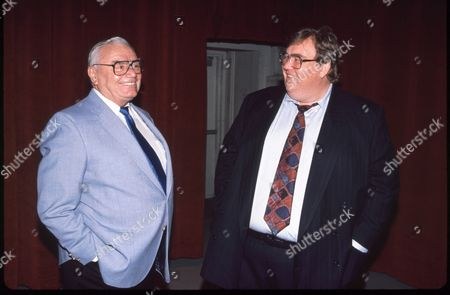 Ernest Borgnine and John Candy