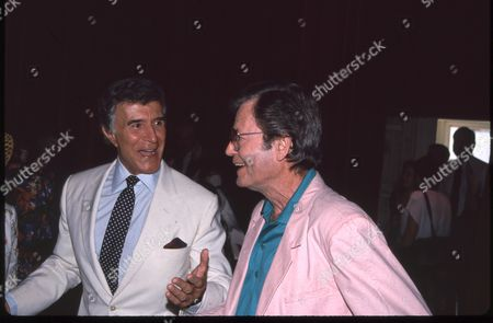 Stock Image of Ricardo Montalban and DeForest Kelley