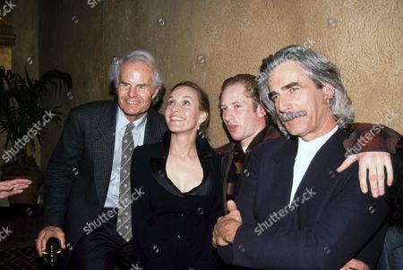 Stock Photo of Richard D. Zanuck, Lili Fini Zanuck, Max Perlich, Sam Elliott