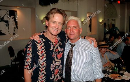 Michael Douglas and Eric Douglas