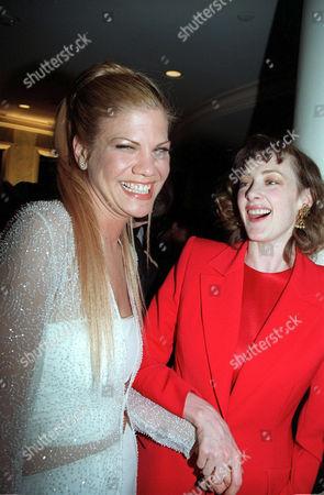 Kirsten Johnson and Joan Cusack