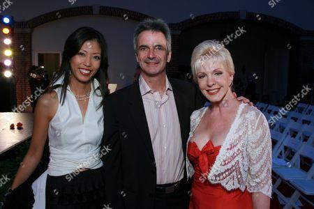 Stock Photo of Yuki Bouzari, Kevin McKenzie & Patricia Kennedy