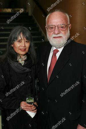 Chika and Saul Zaentz