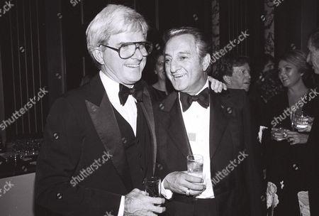 Phil Donahue and Danny Kaye