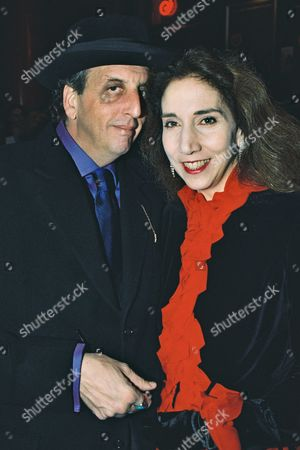 Stock Photo of Vincent Schiavelli and wife Carol