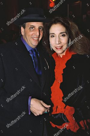Vincent Schiavelli and wife Carol
