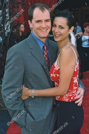 Adam Beason and Catherine Bell