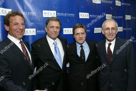 Jim Wiatt, Les Moonves, Brad Grey & Dr. Gerald Levey