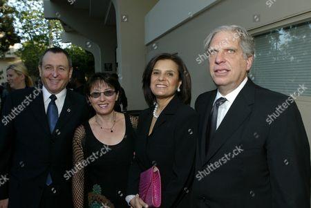 Tom Sherak, Madeleine Sherak, Susan Dolgen & Jonathan Dolgen