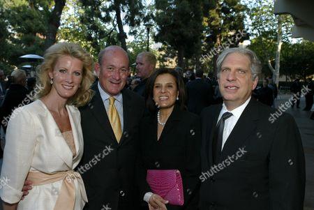 Sandra Lee Karatz, Bruce Karatz, Susan Dolgen & Jonathan Dolgen
