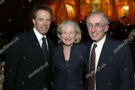 Jerry Bruckheimer, Barbara Levey and Dr. Gerald Levey