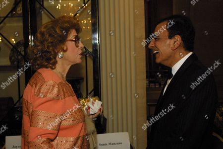 06/15/02 Chicago, IL. Jayne Meadows and Casey Kasem at the 15th Anniversary All-Star Salute to the Museum of Broadcast Communications in Chicago. Photo ® Jennifre` DuMont/BEI