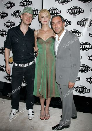 Stock Photo of Peter Paige, Thea Gill, Scott Lowell