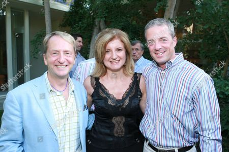 David Bohnett, Arianna Huffington and Michael Flemming