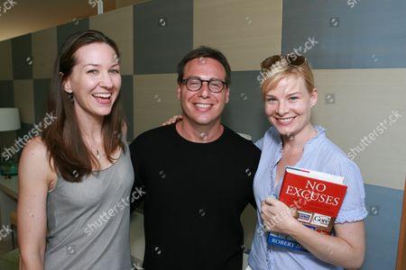 Vanessa Taylor, Rick Singer and Melina Page Hamilton