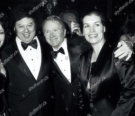 Marty Allen, Red Buttons and wife Alicia Buttons